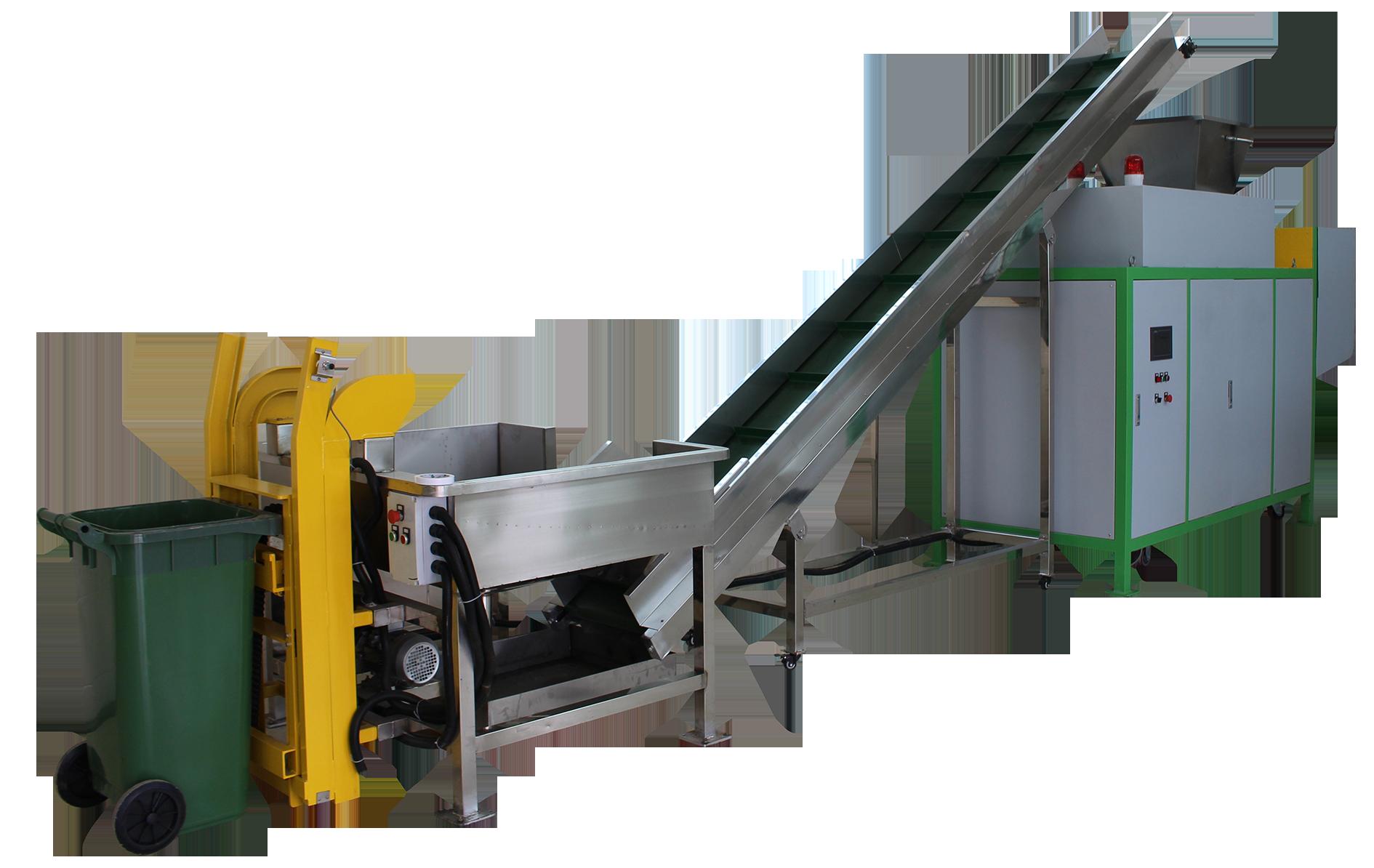 餐廚垃圾預處理機GBL-Y-800適用于餐廚垃圾生化處理前的預處理