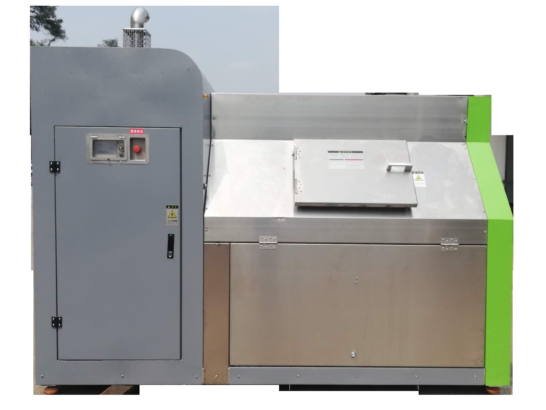 500公斤中小型餐廚垃圾處理設備適用于中型企事業單位、酒店餐飲垃圾處理